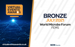 Virtual Events Awards Bronze July 2021