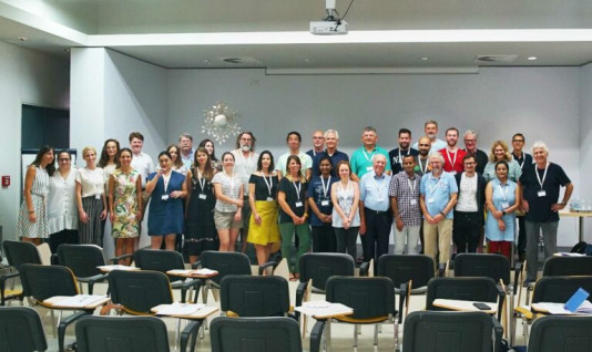 The students and mentors from the last FEMS Summer School for Postdocs (2019) at MedILS, in Split (Croatia)